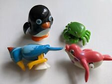Vintage  Wind Up Toys Mixed Lot of 4 Tomy Plus Working!