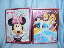 Disney Minnie Mouse and Princess Tins