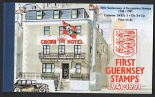 Guernsey 1991 50th Anniversary of First Guernsey Stamp Book SB42 UM