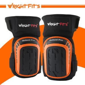 WrightFits Robust Pro Gel Knee Pads Heavy Duty Gel Cushion Knee Protection - DIY