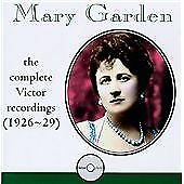 Charpentier, Gustave : Mary Garden (1874-1967) CD Expertly Refurbished Product
