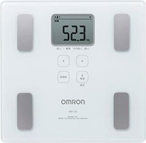 OMRON Body Composition Monitor Body Scan White HBF-214-W from Japan #900