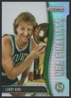 2019-20 Panini Prizm NBA Finalists Prizms SILVER #8 Larry Bird Boston Celtics