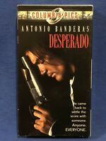 Desperado VHS Antonio Banderas, Salma Hayek Rare