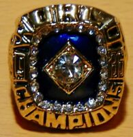1986 NEW YORK METS Championship Ring World Series 18k GOLD PLATE *USA SELLER*
