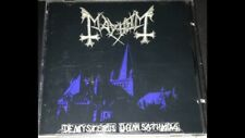 MAYHEM De Mysteriis Dom Sathanas RARE CD DSP Anti-Mosh 006 Dark Funeral Marduk