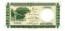 Sierra Leone ... P-1c ... 1 Leone ... ND(1970) ... *AU* ... Replacement