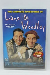 THE COMPLETE ADVENTURES OF LANO AND WOODLEY DVD REGION 4