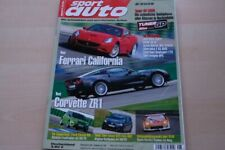 1) Sport Auto 08/2009 - Seat Ibiza Cupra mit 180PS - Aston Martin DBS Volante m