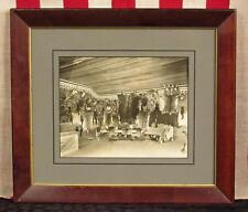 "Vintage Antique Hunting Lodge Photograph Taxidermy 8""x 10"" Schindler Sunbury,PA."