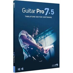 Guitar Pro 7.5 - Editeur de tablatures