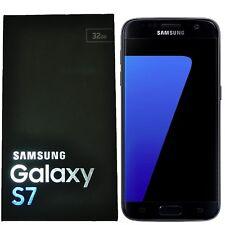 BNIB Samsung Galaxy S7 SM-G930F 32GB Single-SIM Black Factory Unlocked 4G GSM