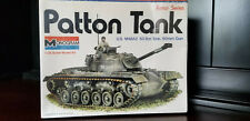 Vintage Model Kit Patton Tank 1/35 Monogram 8217 NIB