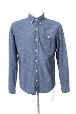 GANT by MICHAEL BASTIAN   Hemd Freizeit Shirt Baumwolle Herren Gr. M in Blau