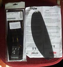 Lazer Fiber Pro. Pinlock Antifog Visor Insert. Dark tinted.