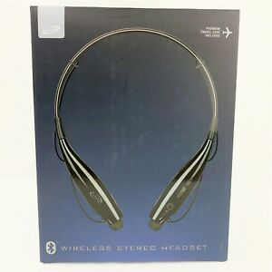 NEW iLive Wireless Stereo Headset - Black With Travel Case Sealed Ships Fast