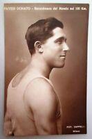 Cartolina originale di Donato Pavesi - atletica leggera