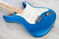 Tagima TG-530 Woodstock Series Strat Style Electric Guitar Lake Placid Blue