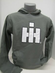 Charcoal International Harvester Logo Youth Hoodie
