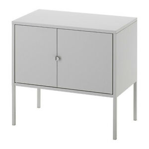 Ikea LIXHULT Cabinet Cupboard,Home Office Storage Living,Metal,Grey,60x35cm,New