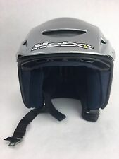 HEBO TRIALS MC HELMET ZONE CARBON FIBER SIZE XS-54 SILVER