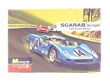 Monogram Scarab 1/24 Scale Model Kit 0124 Le Mans Sebring Winner 63-64 Reventlow
