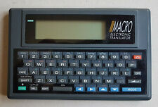 Agenda Elettronica Vintage - MACRO ELECTRONIC TRANSLATOR - MODL 238