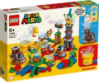 New! 71380 LEGO Super Mario Super Master Your Adventure Maker 366 Pieces Age 5+