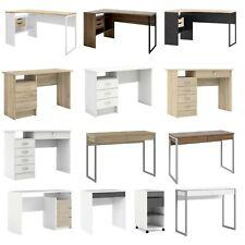 Computer Desk Laptop Table Home Office Study Corner White/Grey/Oak/Walnut Effect