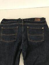 Women's Size 7 Reg Jeans BULLHEAD Venice Skinny Stretch Dark Wash Denim #N27