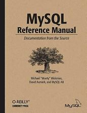 MySql Reference Manual : Documentation from the Source Michael Wi