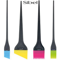 Sibel Professional Silicone Balayage Hair Dressing Tinting Brushes For Colour