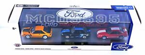 M2 Machines Fox Body Custom 3 Pack Walmart Ford Performance Mustang GT Custom