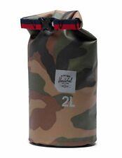Herschel Dry Bag 2L Kleidersack Reiseaccessoire Tasche Braun Schwarz Neu