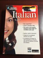 Instant Immersion Italian V 3.0 Software