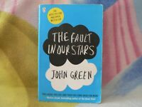 JOHN GREEN SOFT COVER NOVEL THE FAULT IN OUR STARS - LISTING LOTS OF TITLES!!!