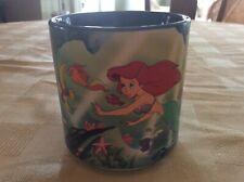 Vtg. 90's Disney's Little Mermaid Ariel Sebastian Flound 00004000 er Ceramic Cup Japan