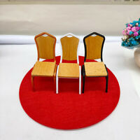 1:12 Scale Miniature Bar Stool Chair Furniture Doll House Decoration AccessoriSE