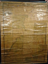 Rea And Otley Surveyors MAP OF LIVINGSTON COUNTY, NEW YORK 1852 Very Good 38x52