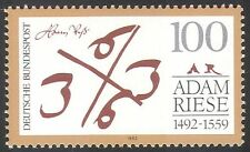 Germany 1992 Adam Riese/Mathematician/Mathematics/Algebra/People 1v (n33411)