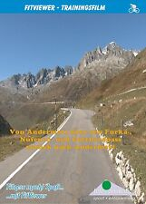 Furka-, Nufenen- and Gotthard-Pass - FitViewer Virtual Video Indoor Cycling DVD