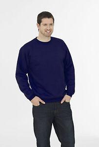 Heavyweight Logoed Workwear Sweatshirt. ANY FULL COLOUR EMBROIDERED LOGO FREE!