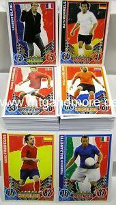 Match Attax EURO EM 2012 - ALLE 181 Basiskarten