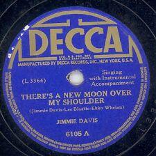 78 - BB -  HILLBILLY - DECCA 6105 - JIMMIE DAVIS
