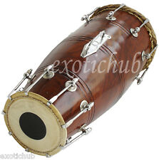 BUY NAAL DRUM~SHEESHAM WOOD~PROFESSIONAL QUALITY~HAND MADE INDIAN~FULL SIZE