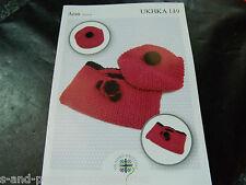 UKHKA aran childs ensemble knitting pattern 149