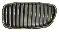 MASCHERINA CALANDRA ANTERIORE SX PER BMW SERIE 5 F10 F11 2010 AL 2013 CROMATA NE