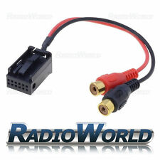 Vauxhall Astra Corsa Zafira Tigra Aux-IN Input Adapter Connector IPOD/MP3 AUX P