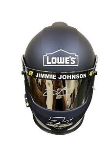 Jimmie Johnson Lowes (7x Champion) Signed Full Size Helmet JSA