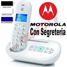 TELÉFONO SIN CABLE MOTOROLA DECT T111 PANTALLA LCD BRECHA RUBRICA 50 CONTACTOS